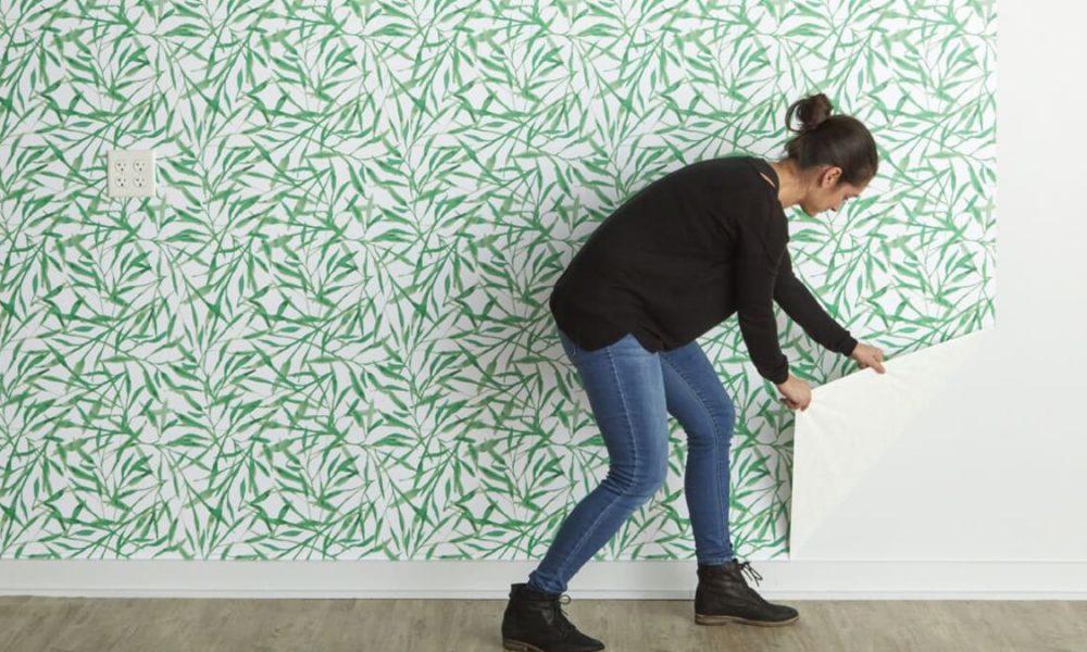 Comment réparer le papier peint ?