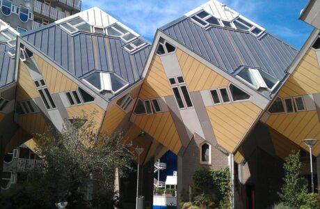 Maison cubique : Découvrez les maisons en cube de Rotterdam
