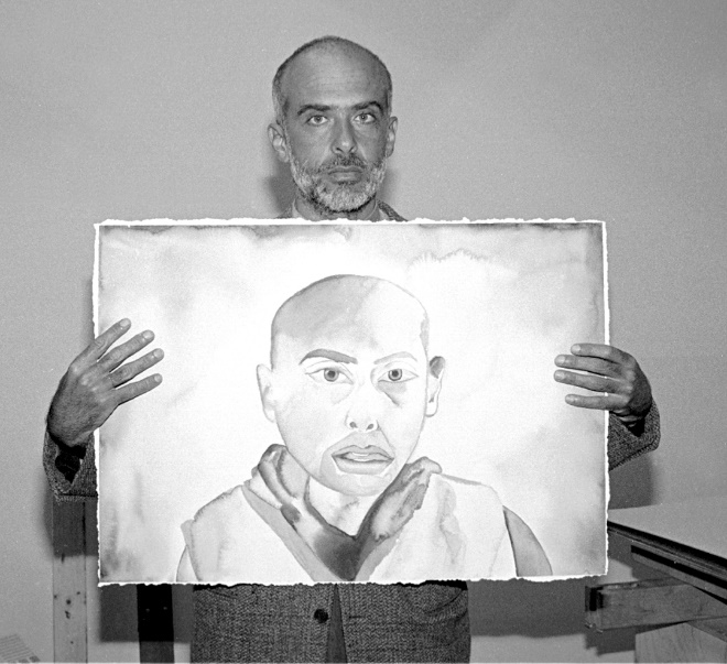 Quand le confinement rend productif : exemple avec le peintre Francesco Clemente